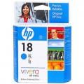 惠普(HP)C4937A 18号 青色墨盒(适用Officejet L7380 L7580 L7590 8600plus Pro K5300)