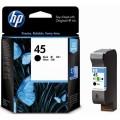 惠普(HP)51645AA 45号 黑色墨盒(适用HP Deskjet 710c 830c 850c 870cxi / DesignJet 700 750c / PhotoSmart P1000 P1100 / OfficeJet G55 K80 R45 T45 / OfficeJet Pro 1150c / Color Copier 170 290)
