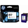 惠普(HP)C8817AA 817号 彩色墨盒(适用HP Deskjet F2238 F2288 D1568 Officejet 4308)