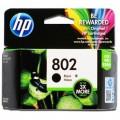 惠普(HP)CH563ZZ 802 黑色墨盒(适用于HP Deskjet 1050、2050、1000、2000)