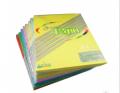 Maxleaf 玛丽 A4彩色复印纸 浅色 80g打印复印彩纸 手工折纸 100张/包