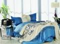 恒源祥家纺 恒源祥床用用品四件套 彩羊系列 青花 全棉斜纹四件套 被套 床单 枕套